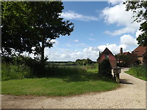 TM0850 : High Hall, Nettlestead by Adrian Cable