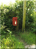 TM0949 : Westleygreen Farm Postbox by Adrian Cable
