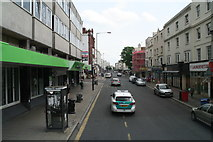TQ2904 : Police escort down Western Road, Hove by Chris