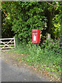 TM0749 : The Limeburners Postbox by Adrian Cable