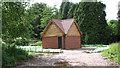 TG2712 : Hall Farm bat house by Evelyn Simak