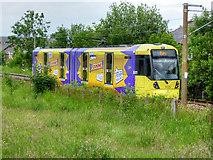 "SD7908 : Metrolink ""Crunchie"" Tram between Radcliffe and Bury by David Dixon"