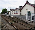 SS0699 : Manorbier railway station by Jaggery