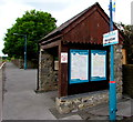 SS0699 : Manorbier railway station passenger shelter by Jaggery