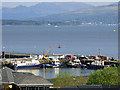 NS2875 : Victoria Harbour and the Firth of Clyde by Thomas Nugent