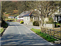 SN9365 : B4518, Nantmadog Bungalows and Elan Valley Hotel by David Dixon
