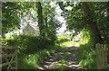 SX8296 : Church and farm, Oldridge by Derek Harper