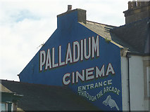 SD4364 : Restored sign for the old Palladium Cinema, Morecambe by Karl and Ali
