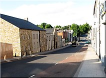 H8745 : View east along College Street Armagh by Eric Jones