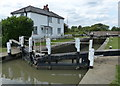 SP8829 : The Lock House and Stoke Hammond Lock No 23 by Mat Fascione