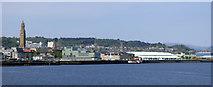 NS2876 : Greenock Waterfront by Thomas Nugent