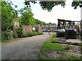 SJ9396 : Outbuildings at Dunkirk Farm by Gerald England