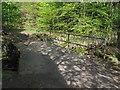 SE2438 : Clapper bridge at Brookfoot: end view by Stephen Craven