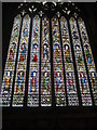 SE6052 : The West Window of York Minster, from on high by Rich Tea