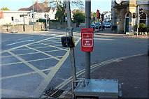 SX9265 : Crossing not in use, St Marychurch by Derek Harper