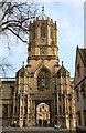 SP5105 : Tom Tower on St Aldates by Steve Daniels