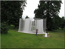 TQ2680 : Temporary summer house by Asif Khan, Serpentine Gallery by David Hawgood