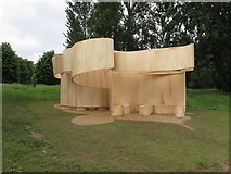 TQ2680 : Temporary summer house by Barkow Leibinger, Serpentine Gallery by David Hawgood