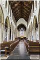 TF8209 : Interior, Ss Peter & Paul church, Swaffham by Julian P Guffogg