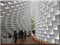 TQ2679 : Serpentine Pavilion 2016, inside view by David Hawgood