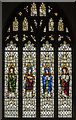 TF8209 : Stained glass window, Ss Peter & Paul church, Swaffham by Julian P Guffogg
