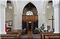SP9820 : St Giles, Totternhoe - West end by John Salmon