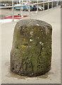 SN1304 : Stone mooring bollard by M H Evans