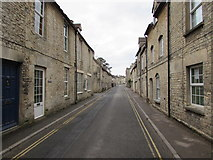 SO8700 : West along West End, Minchinhampton by Jaggery
