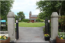 NX4355 : Entrance to Park & Gardens, Wigtown by Billy McCrorie