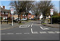 SO9121 : Southern end of Robert Burns Avenue, Cheltenham by Jaggery