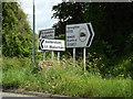TM1147 : Roadsigns on the B1113 Loraine Way by Adrian Cable