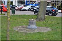 TQ1977 : Memorial Stone, Kew Green by N Chadwick