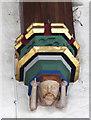 SP9620 : St Mary, Eaton Bray - Corbel by John Salmon