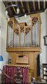 TF8709 : Organ, All Saints' church, Necton by Julian P Guffogg