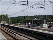 SE2436 : Photographing us, Kirkstall Forge station by Rich Tea