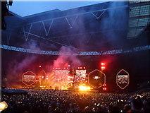 TQ1985 : Coldplay - A Head Full of Dreams Tour - Wembley Stadium - 6 by Richard Humphrey
