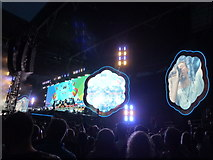TQ1985 : Coldplay - A Head Full of Dreams Tour - Wembley Stadium - 10 by Richard Humphrey