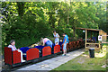 SW8355 : Newlyn Downs Halt - Lappa Valley Railway by Chris Allen