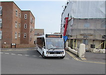ST3049 : Hatch Green Coaches bus in Burnham-on-Sea by Jaggery