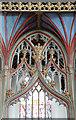SP9957 : St Mary, Felmersham - Screen detail by John Salmon