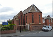 SJ9498 : St Mary's, Dukinfield by Gerald England