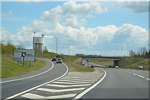 TL3160 : Cambourne turning, A428 by N Chadwick
