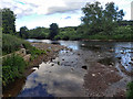 NZ2751 : Confluence of the Cong Burn with the River Wear by Mick Garratt
