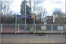 TQ2077 : Chiswick Station by N Chadwick