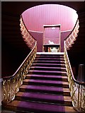 SJ5409 : Staircase in Attingham Park by Philip Halling