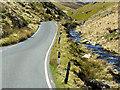 SN8575 : Afon Ystwyth near the Ceredigion/Powys border by David Dixon