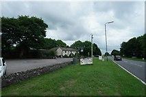 SK1576 : Roadside hoardings at Lane Head by Bob Harvey