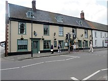 TG0738 : The Feathers Hotel, 6 Market Place, NR25 6BW by Peter Holmes