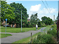 SP9325 : Path by the light railway, Leighton Buzzard by Robin Webster
