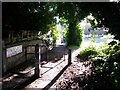 SZ0796 : East Howe: footpath E50 from Leybourne Avenue to Leybourne Avenue by Chris Downer